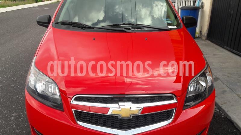 Chevrolet Aveo LT usado (2017) color Rojo Victoria precio $118,000