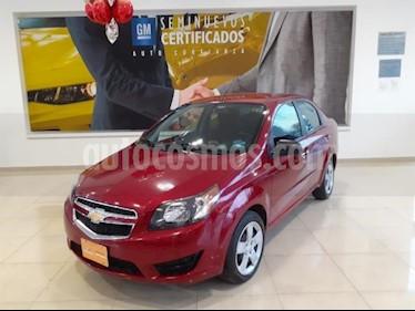 Chevrolet Aveo 4P LT L4/1.6 AUT usado (2018) color Rojo precio $160,900