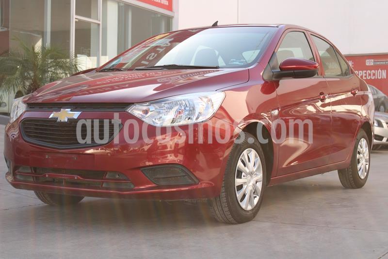 Chevrolet Aveo LS usado (2019) color Rojo precio $150,000