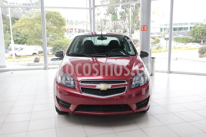 Foto Chevrolet Aveo LS Aa usado (2018) color Rojo precio $138,500