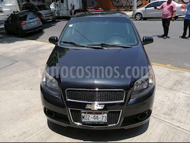 Chevrolet Aveo LS usado (2015) color Negro Grafito precio $100,000