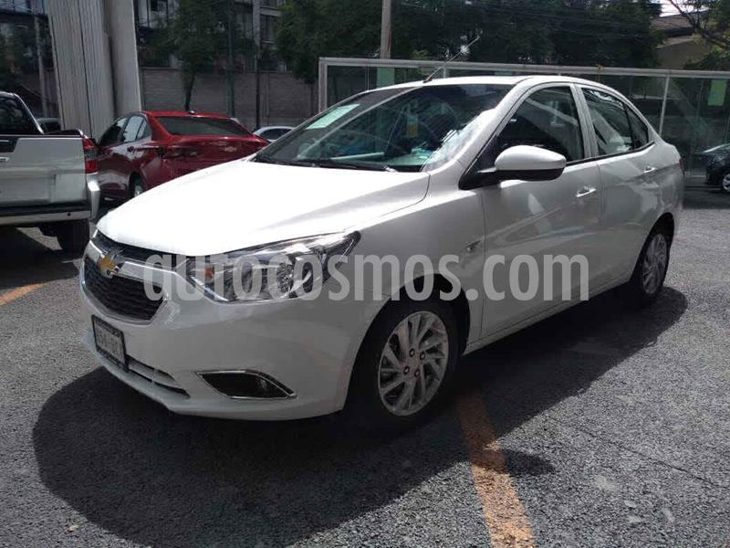 Chevrolet Aveo LTZ Aut usado (2019) color Blanco precio $229,000