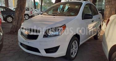 Chevrolet Aveo 4p LS L4/1.6 Aut usado (2018) color Blanco precio $134,900