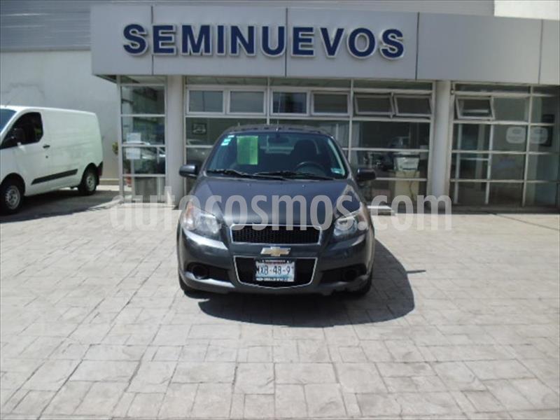 Chevrolet Aveo LT usado (2016) color Gris Oscuro precio $115,000
