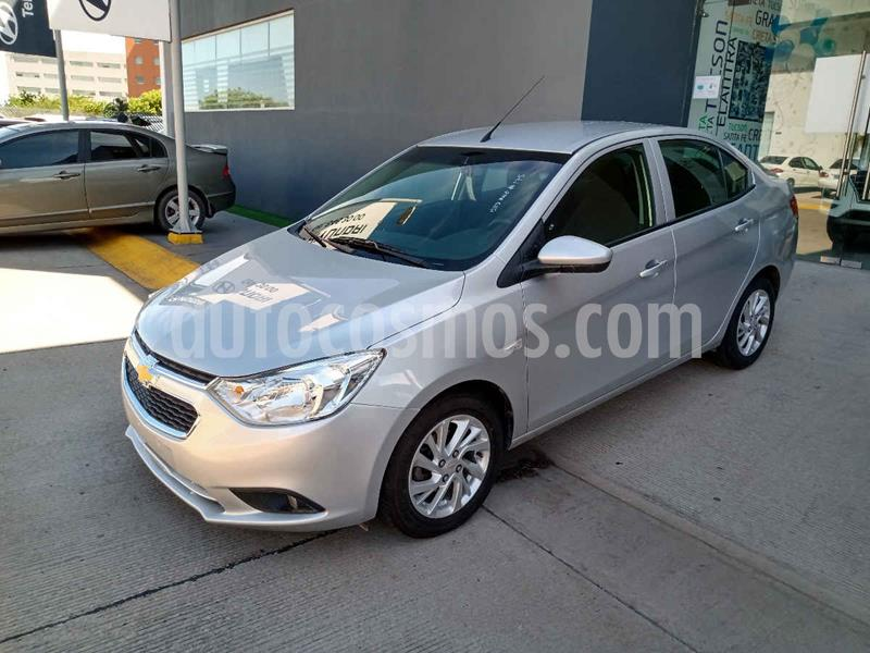 Chevrolet Aveo LT Aut usado (2019) color Plata precio $198,000