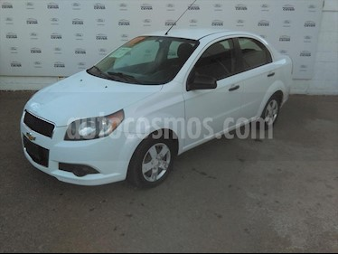 Chevrolet Aveo LS, MANUAL CON A/A Y RADIO usado (2017) color Blanco precio $125,000