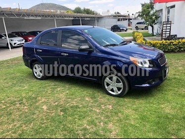 Chevrolet Aveo 4p LT L4/1.6 Man usado (2017) color Azul precio $147,001
