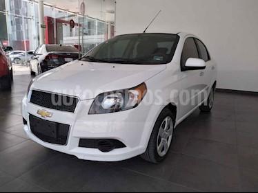 Chevrolet Aveo 4p LS L4/1.6 Man usado (2017) color Blanco precio $149,000