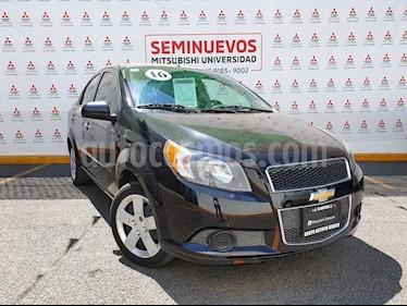 Chevrolet Aveo LS Aut usado (2016) color Negro Grafito precio $140,000