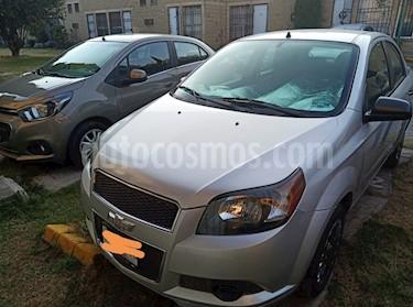 Chevrolet Aveo LS Aa radio (Nuevo) usado (2014) color Plata Brillante precio $75,000