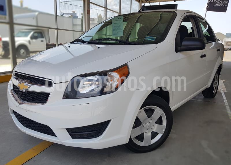 Chevrolet Aveo LS usado (2017) color Blanco precio $135,000