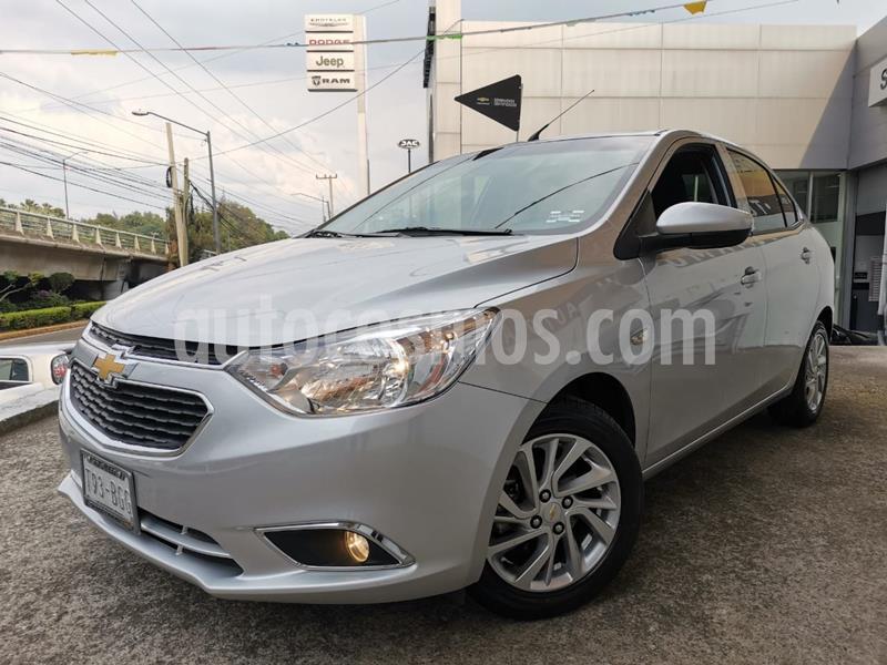Chevrolet Aveo LTZ usado (2020) color Plata Dorado precio $215,000