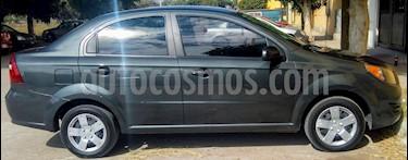 Chevrolet Aveo LS usado (2017) color Gris precio $140,000