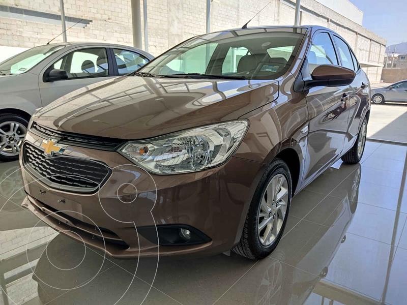 Foto Chevrolet Aveo Paq C usado (2020) color Cafe precio $200,000