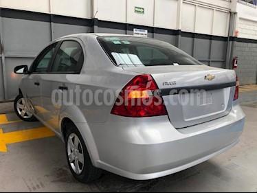 Chevrolet Aveo 4P LS TA A/AC CD R-14 usado (2016) color Plata precio $110,000