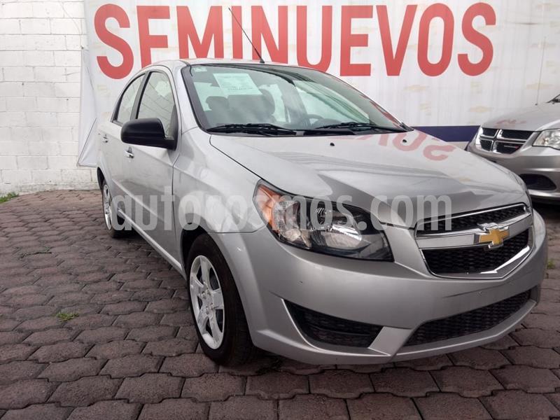 Chevrolet Aveo LT Aut usado (2018) color Plata precio $140,000