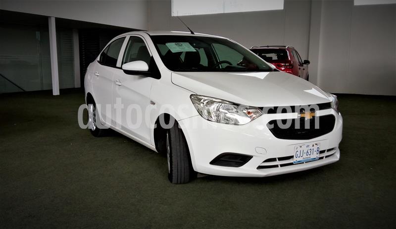 Chevrolet Aveo Paq B usado (2019) color Blanco precio $170,000