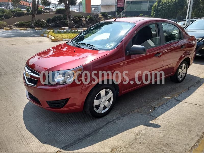 Chevrolet Aveo LS Aa usado (2018) color Rojo precio $138,500