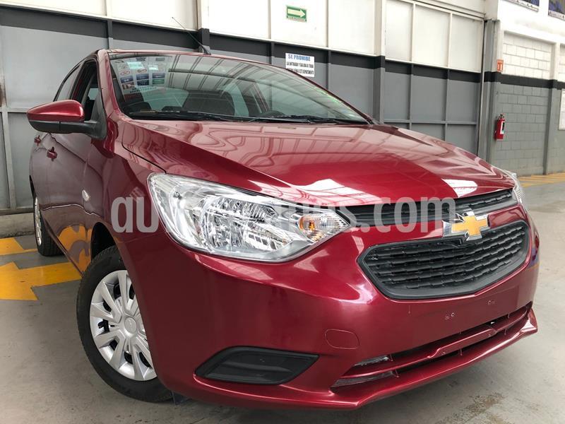 Chevrolet Aveo LS usado (2018) color Rojo precio $145,000