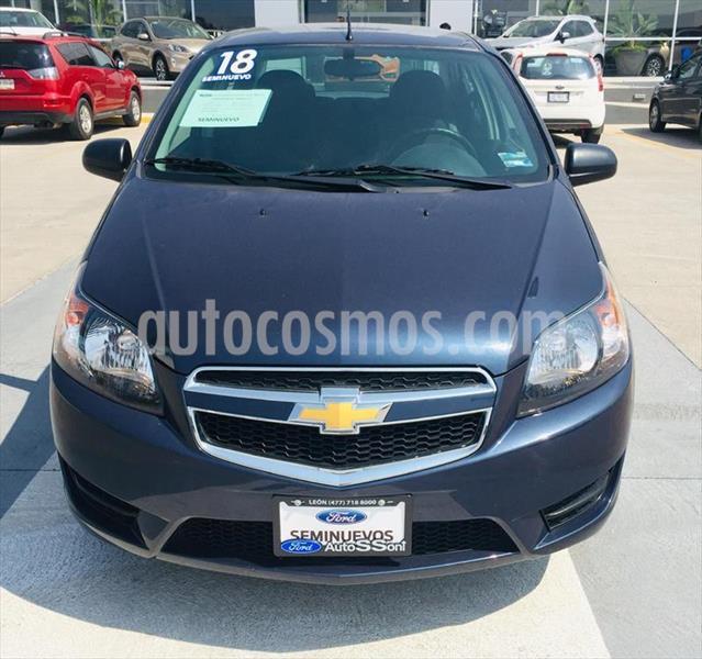 Chevrolet Aveo LT Aut usado (2018) color Azul Marino precio $145,000