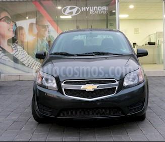 Chevrolet Aveo LS Aa usado (2018) color Gris precio $170,000