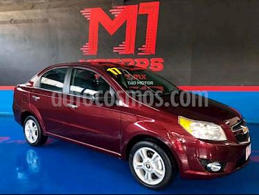 Chevrolet Aveo LTZ Aut (Nuevo) usado (2017) color Vino Tinto precio $144,900