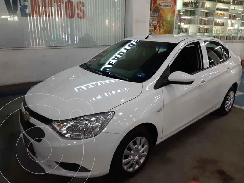 Chevrolet Aveo Paq A usado (2020) color Blanco precio $158,000