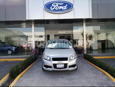 foto Chevrolet Aveo LS, AUTOMÁTICO CON A/A, CON RADIO usado (2015) color Plata precio $92,000