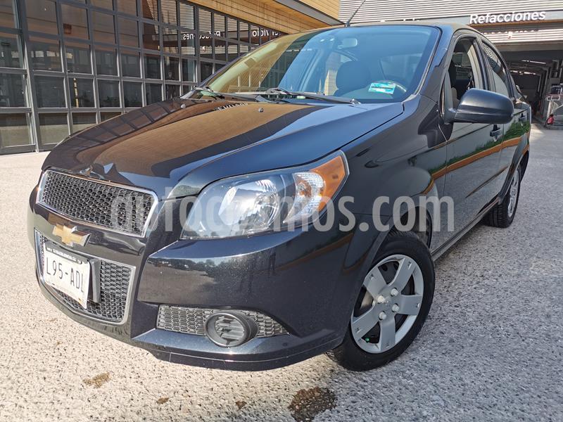 Foto Chevrolet Aveo LS usado (2015) color Negro Grafito precio $109,998