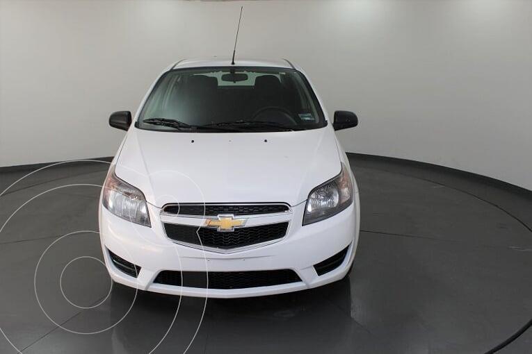 Chevrolet Aveo LS Aa usado (2018) color Blanco precio $125,500