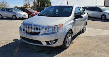 Chevrolet Aveo 4p LTZ L4/1.5 Aut usado (2018) color Plata precio $139,900