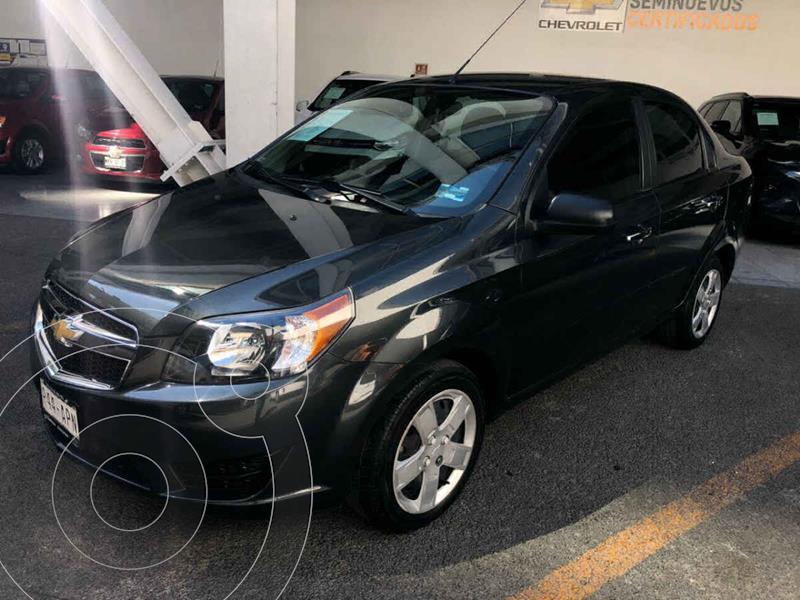 Chevrolet Aveo LS Aut usado (2017) color Gris precio $139,000