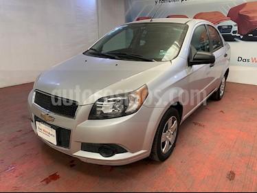Chevrolet Aveo LS usado (2015) color Plata Brillante precio $110,000