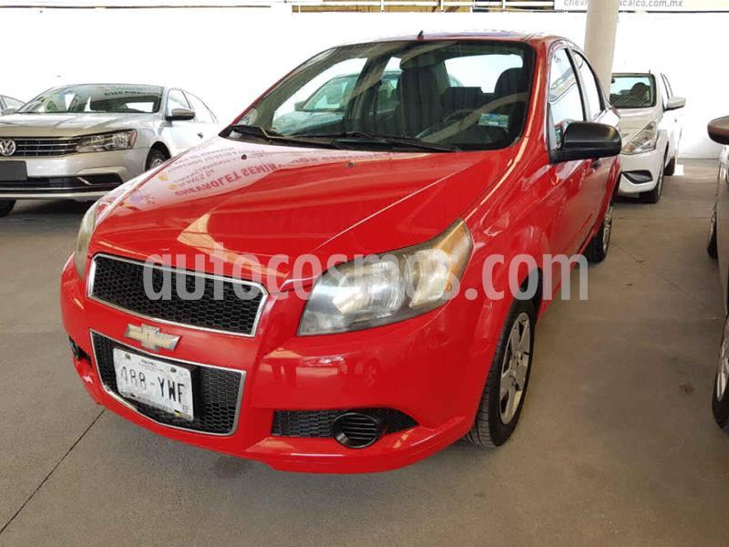 Chevrolet Aveo LS Aa usado (2013) color Rojo precio $94,000