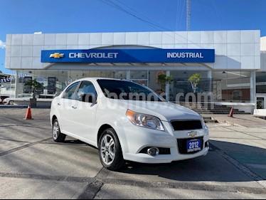 Chevrolet Aveo Paq D usado (2012) color Blanco precio $90,000