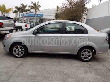 Chevrolet Aveo 4p LTZ L4/1.6 Aut usado (2018) color Plata precio $170,000