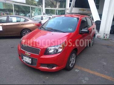 Chevrolet Aveo LS usado (2013) color Rojo precio $109,000