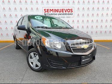 Chevrolet Aveo LT usado (2018) color Negro Grafito precio $175,000