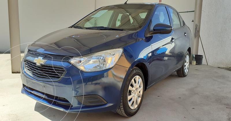 Foto Chevrolet Aveo LS Aa usado (2020) color Azul precio $167,900