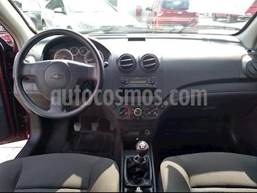 Foto Chevrolet Aveo LT usado (2016) color Rojo Tinto precio $130,000