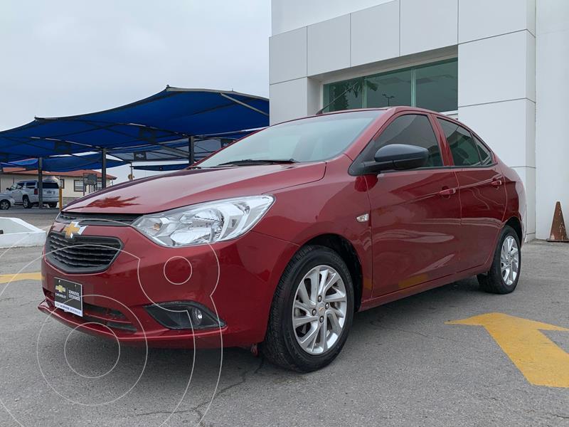 Foto Chevrolet Aveo LT usado (2020) color Rojo precio $250,500