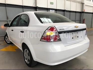 Chevrolet Aveo 4P LS AT A/AC. R-14 usado (2017) color Blanco precio $120,000