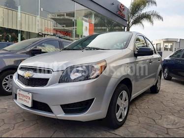 Chevrolet Aveo 4p LS L4/1.6 Aut B/A usado (2017) color Plata precio $135,000