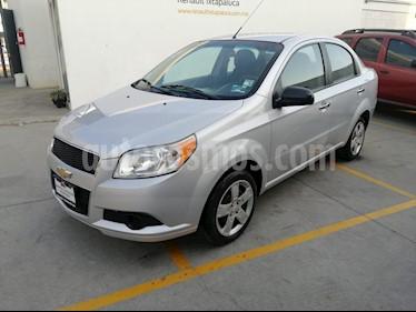 Chevrolet Aveo Paq B usado (2012) color Plata precio $105,000