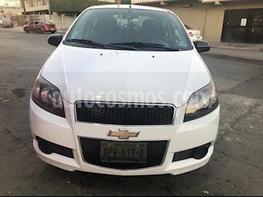 Chevrolet Aveo Paq F usado (2016) color Blanco precio $92,000