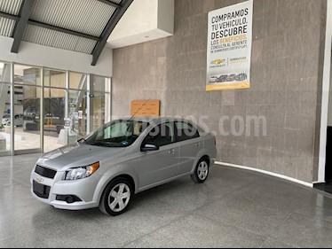 Foto Chevrolet Aveo LT Aut usado (2017) color Plata precio $119,000