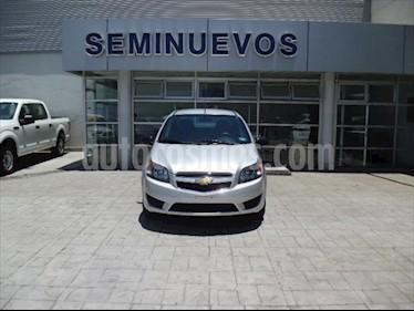 Chevrolet Aveo LS usado (2018) color Plata precio $135,000