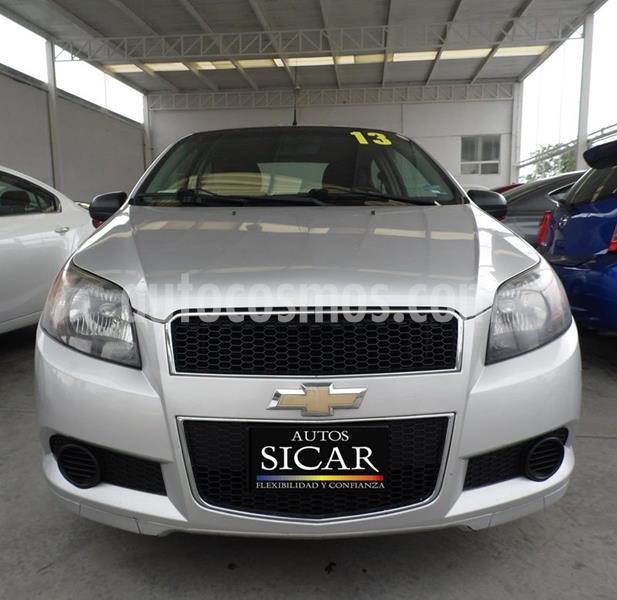 Chevrolet Aveo LS Aa usado (2013) color Plata Dorado precio $97,000