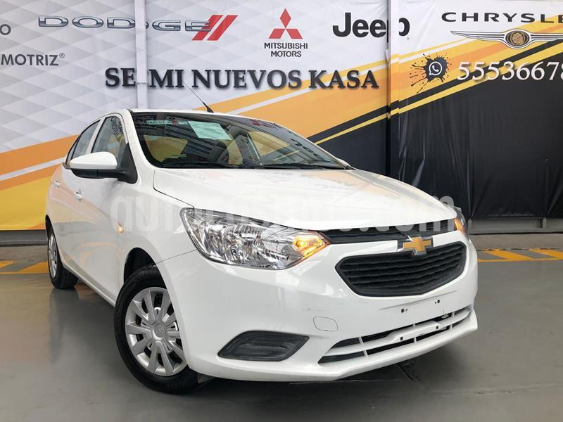 Chevrolet Aveo LS usado (2019) color Blanco precio $165,000
