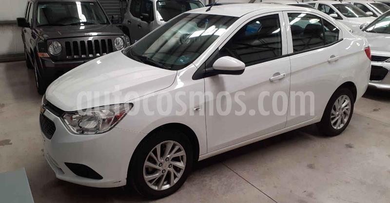 Chevrolet Aveo 4p LT L4/1.5 Aut usado (2019) color Blanco precio $179,900